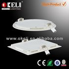 India market BIS approved led panel light ultra thin Recessed Panel Ceiling Light