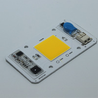 110V 220V Hot Led Chip COB light source 50w driverless solderless warm white chip for grow lamp