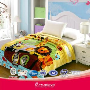 Home Textile--100% Polyester Mink Quality Blanket Bedspread