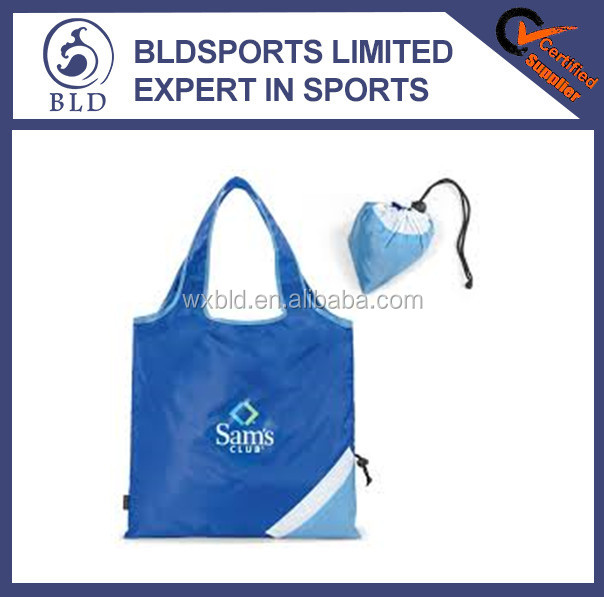 Hot selling and promotional reusable folding shopping tote bag