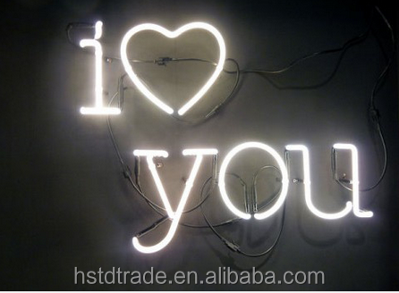 2016 customized neon sign.I love you neon sign,Happiness is expansive neon sign