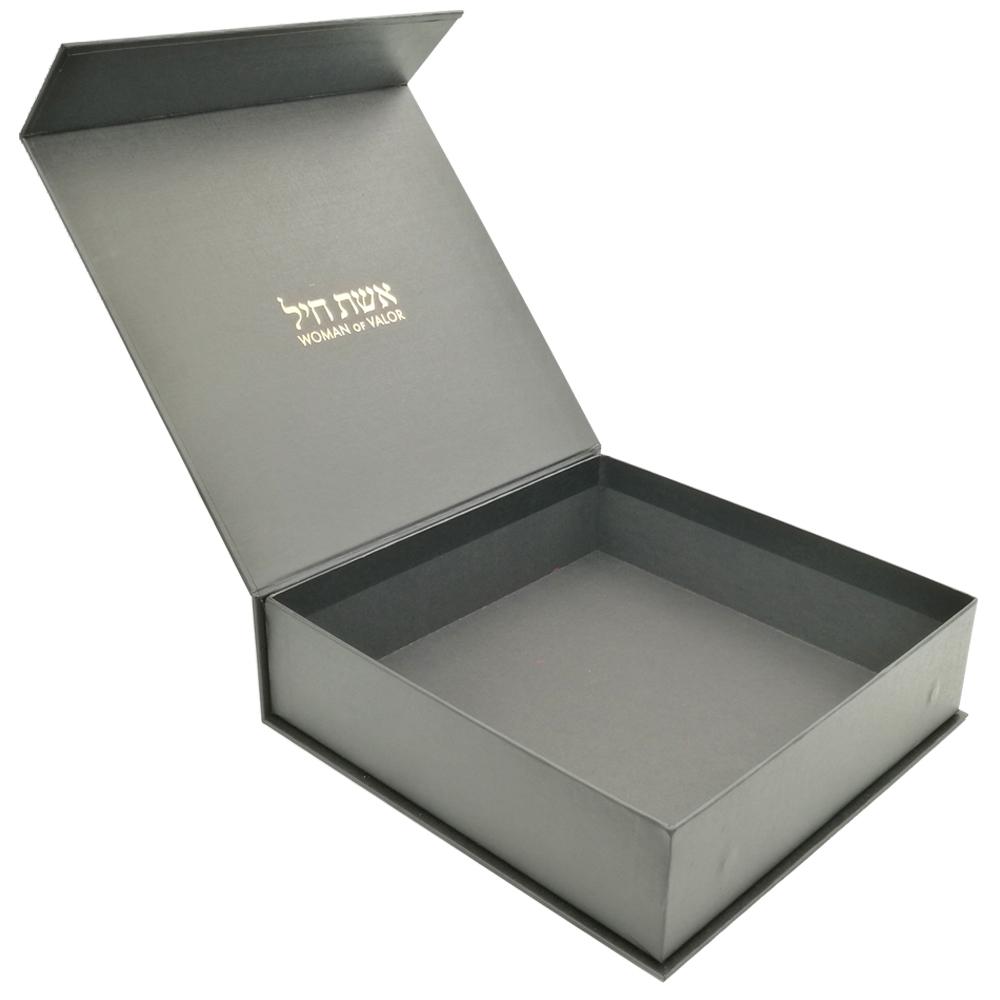Özel logo lüks hediye kağıdı karton ambalaj kutusu