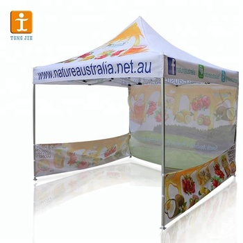 Events Sports Custom design canopy printing cheap custom printed canopy tent