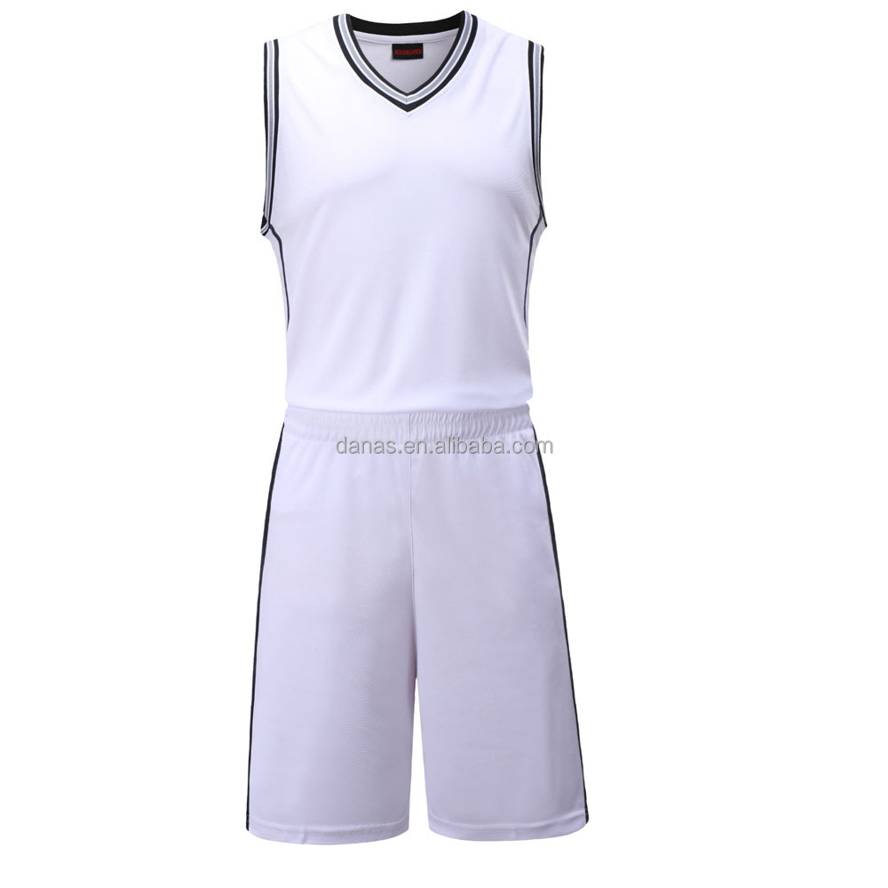 Mens 2017 Sports Wear New Model Blank Team Basketball Jersey