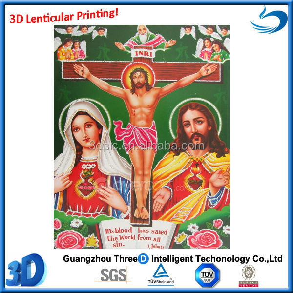 high quality jesus image 3d god posters