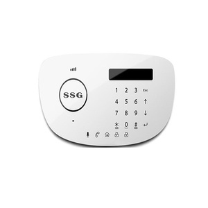 PSTN GSM alarm systemT6L Home security work with door contact sensor PIR motion sensor remote control
