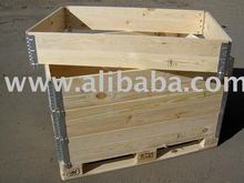 pallet collars, pallet frames, nadstawki, wood packaging,