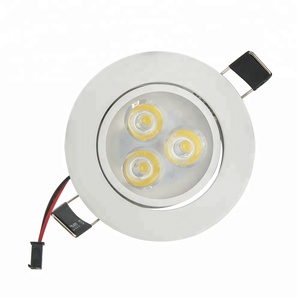 hot selling decoration indoor 3w 3x1 led downlight