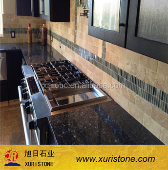 Norway Blue Pearl Natural Stone Kitchen Table Top Material And Counter