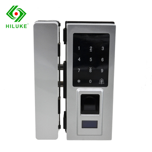 HILUKE Good Quality Digital Fingerprint Waterproof Corrosion Proof Electronic Glass Door Locks