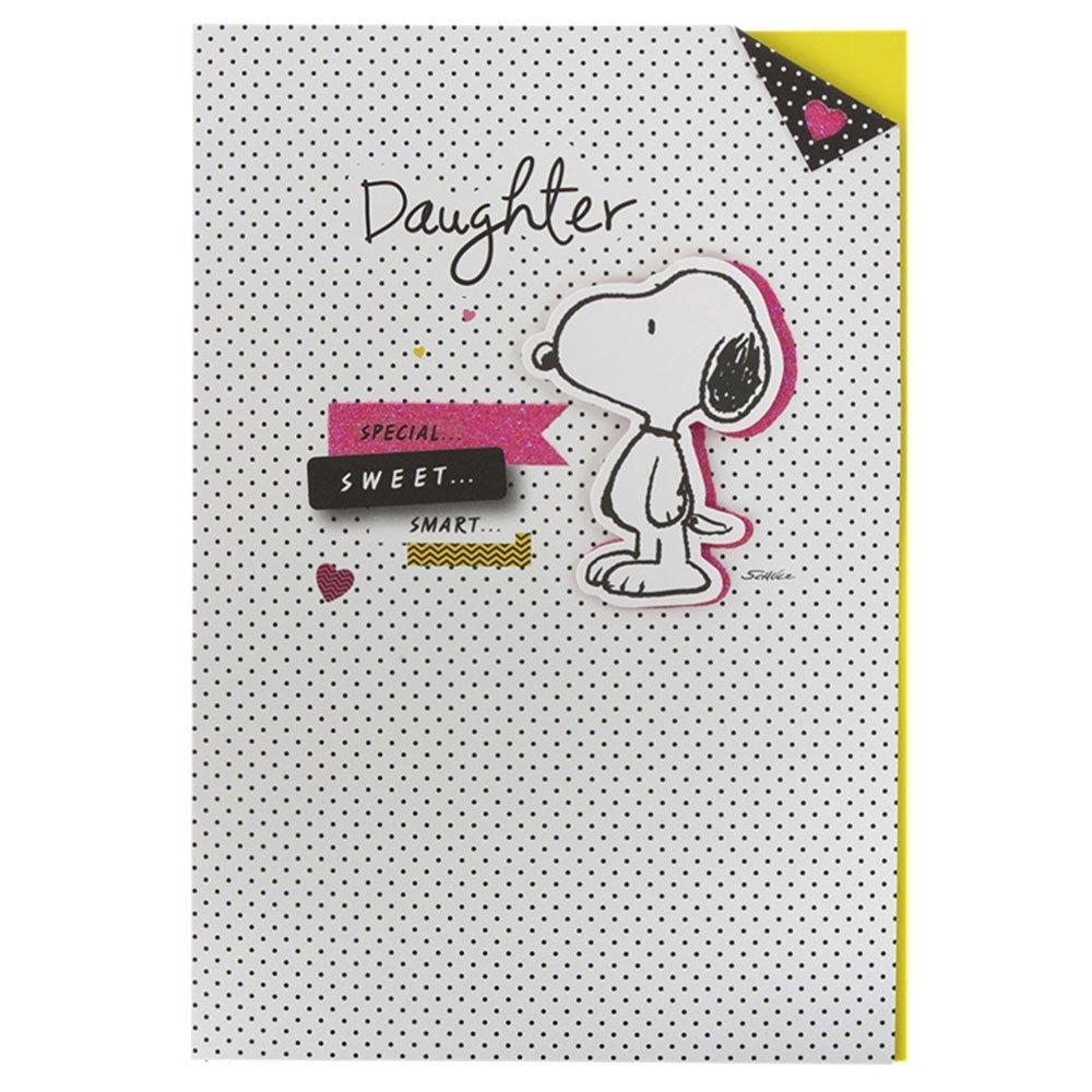 Hallmark Medium Daughter Kids 3D Attachment Birthday Card