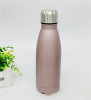 2016 newest fashionable double wall stainless steel hot and cold sport water bottle