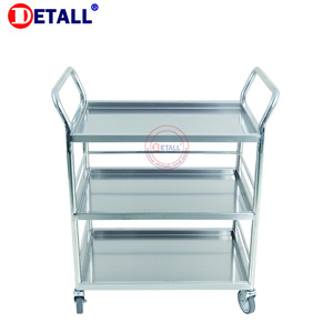 Detall- Hotel trolley assembly line mobile rolling work table