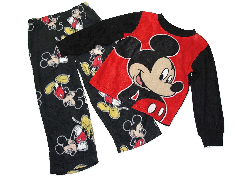 Disny Toddler Boy's 4T Mickey Mouse Fleece Pajama Pants Set