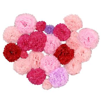 Diy decorative tissue paper pom poms flowers wrapping ball perfect diy decorative tissue paper pom poms flowers wrapping ball perfect for party wedding home outdoor mightylinksfo