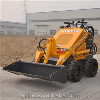 High efficiency hot small skid steer loader for sale