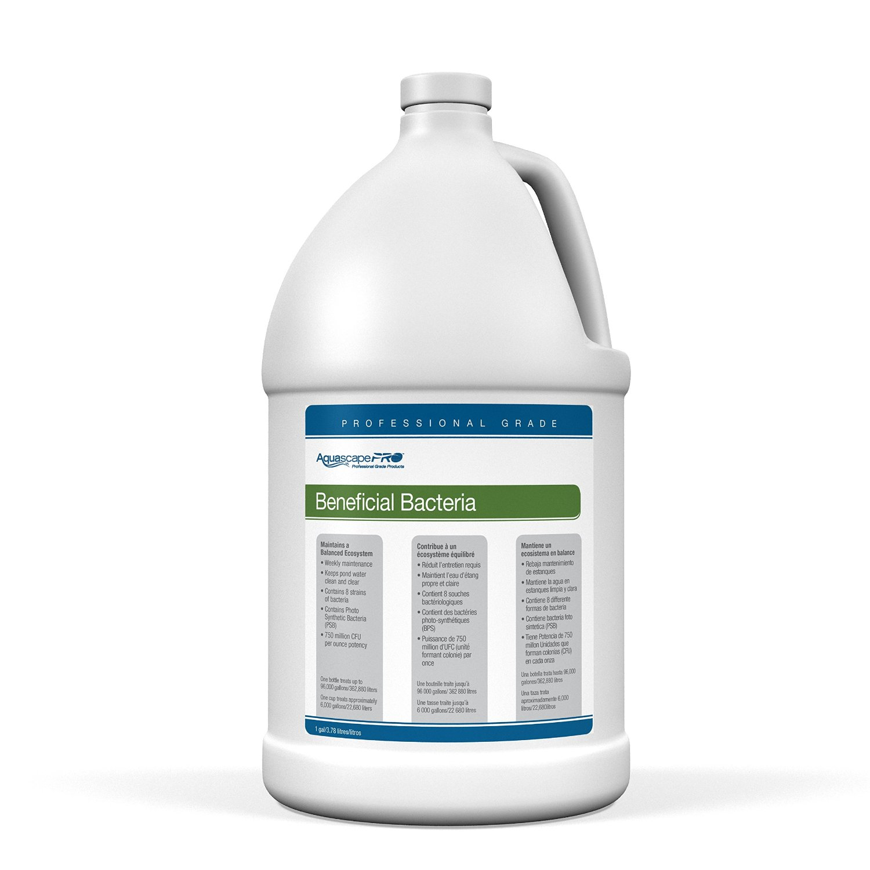 Aquascape Beneficial Bacteria Water Treatment for Ponds, Pro Contractor Grade, Liquid, 1 Gallon/3.78 L   30406