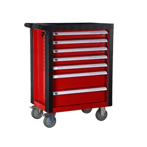 Heavy duty 7 drawers garage metal rolling storage tool trolley tool chest cabinet