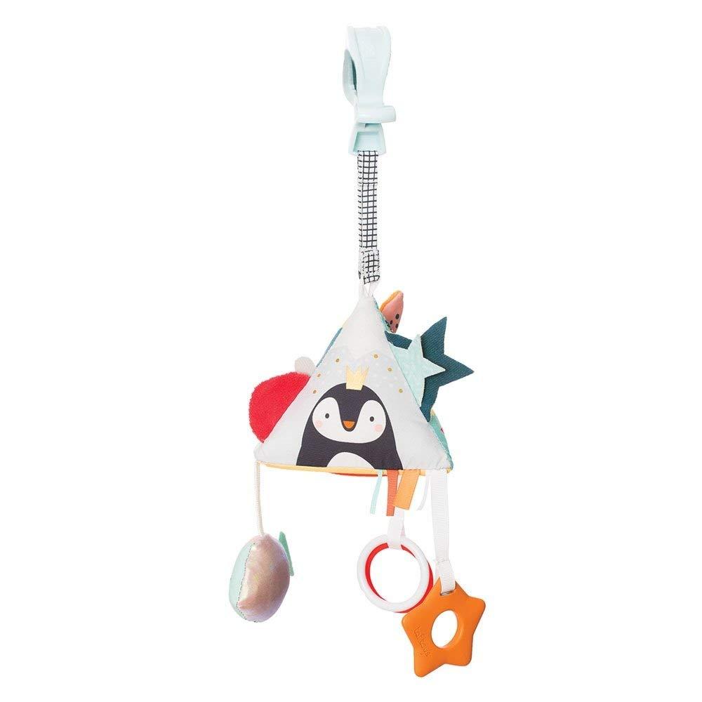 Taf Toys Baby's Developmental Activity Pyramid Toy   3+ Months Baby's Curiosity Enhancer, Promotes Imagination, Senses & Motor Skills, Pram, Crib & Car Seat Attachable