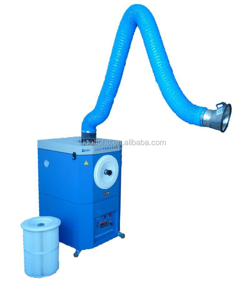 Factory direct sale mobile dust collector for welding / portable fume dust collector / smoke extraction system
