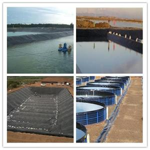 Quality 3mm brine pond liner 4mm waterproof membrane 30mil hdpe geomembrane