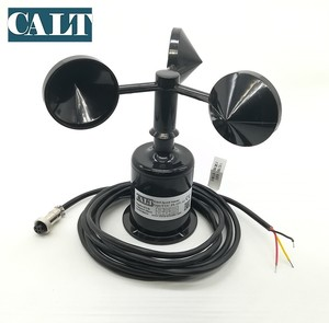 3 Cup Wind Speed Anemometer 12 24 V dc Wind Sensor RS485 4-20mA 0-5V Transmitter Weather Station