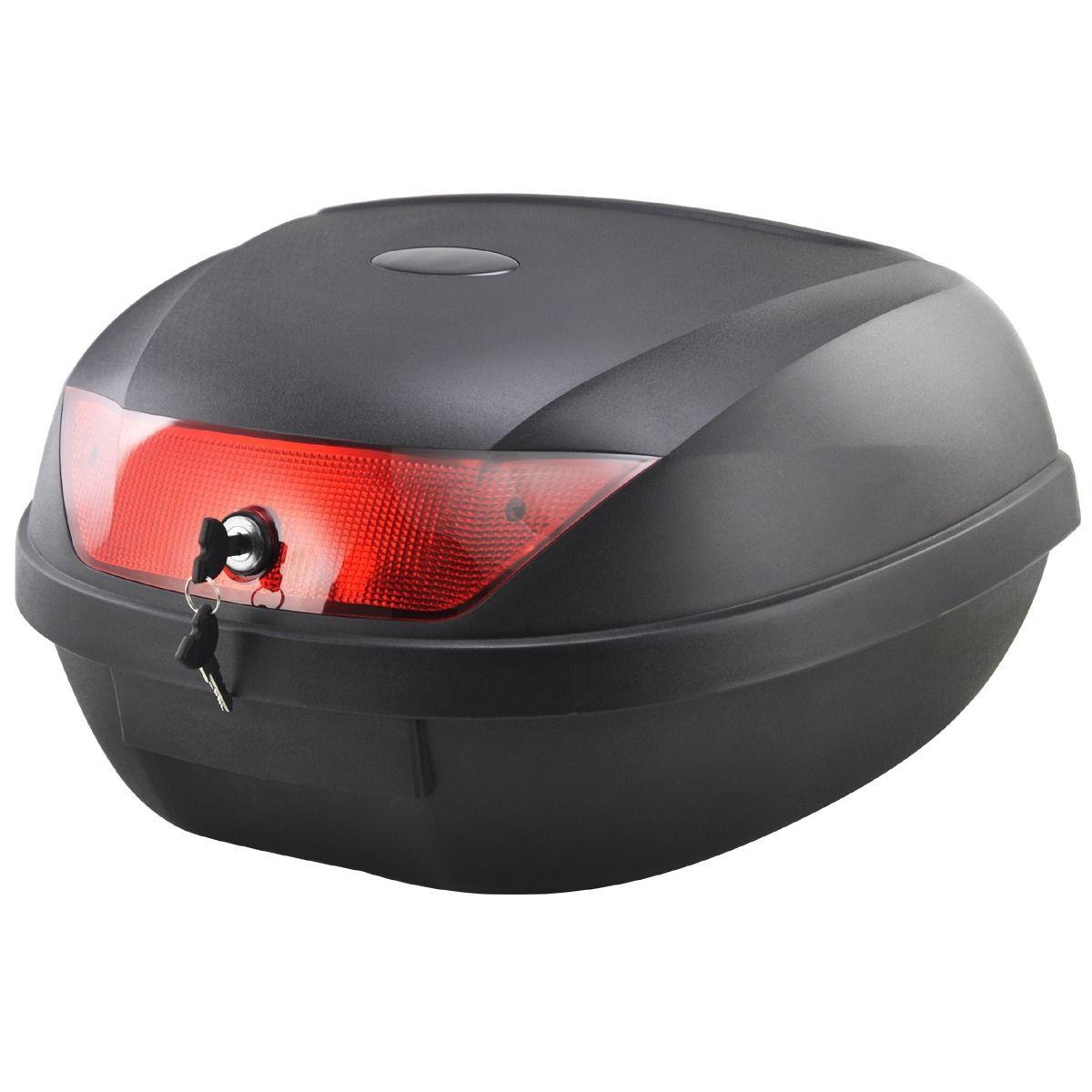 Горячая распродажа! Мотоцикл черный 51 л телеприставку чехол багажа для 2 шлем