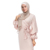 Factory Supply Turkish Clothes Pink Soft Crepe Wedding Wholesale Lace Muslim Chiffon Maxi With Lining White Cotton Dress