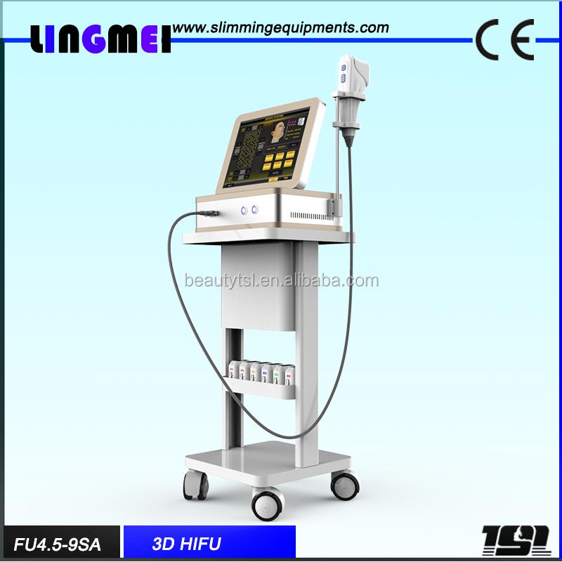 LINGMEI Factory Intensity focused ultrasound hifu slimming U-Matrix 3D HIFU machine