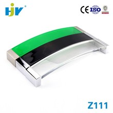Top sale high quality curved acrylic door handles