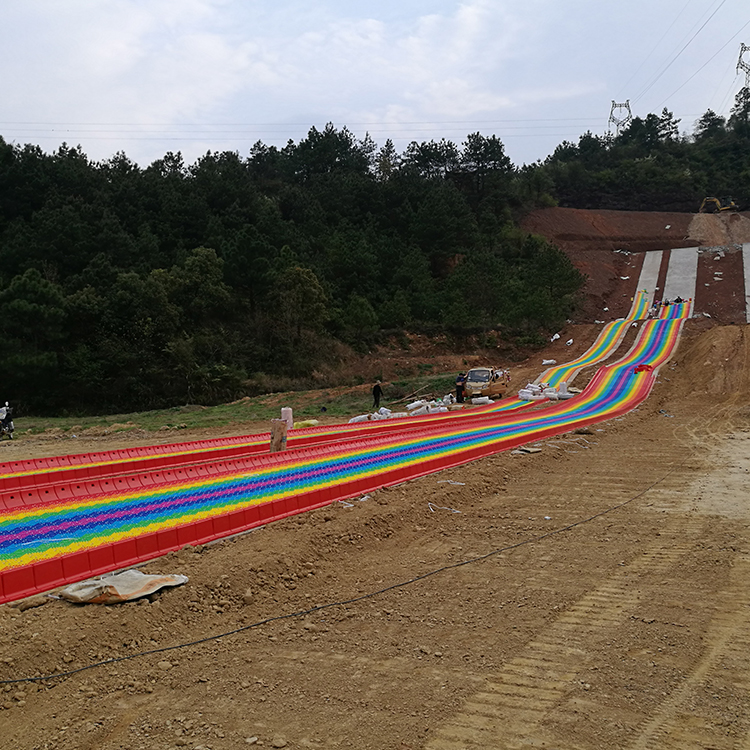 Dry skiing project design and planning, Dry skiing slope for amusement park and resorts