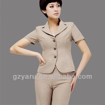 2013 Formal Women Linen Pants Suit Buy 2013 Formal Women Linen
