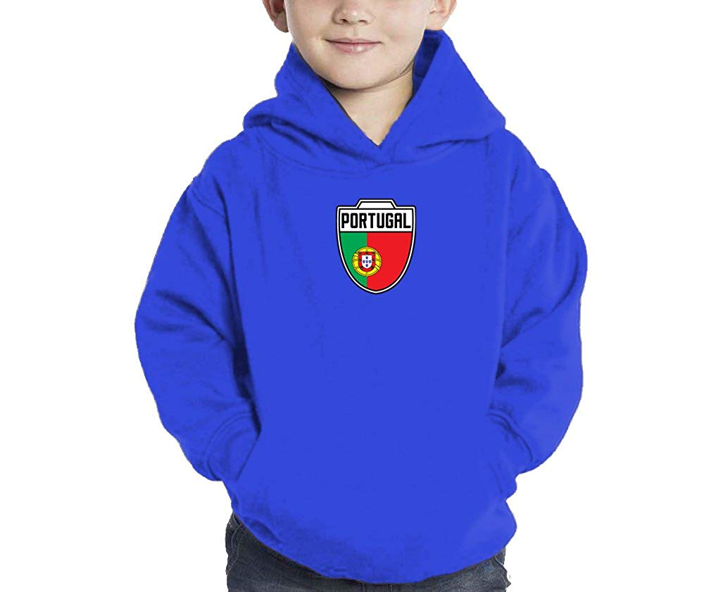 65e8f27dc Get Quotations · Toddler Little Boy Portugal Portuguese - Soccer Hoodie  Sweatshirt