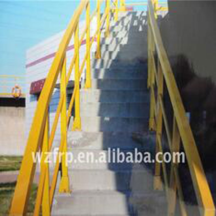 Anti-corrosion and anti-ageing FRP Stair Railing for Chemical Factory