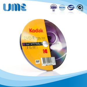 Kodak Gold Top Quality Grade A+ DVD-R 4.7GB for Movies Factory Sale