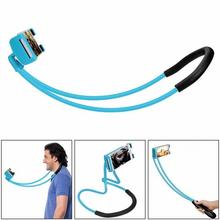 2018 Hot Selling Portable Rotating Flexible Cell Phone Holder Hands Free Lazy Neck Smart Phone Holder for Bed Car Desktop Chair
