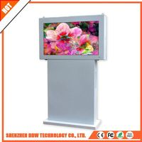 Factory drop price New product superior service lcd floor standing outdoor solar power advertising display landscape floor stand