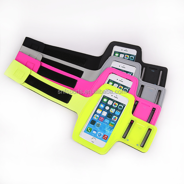 Bulk Ultrathin Lycra Cell Phone Accessories Mobile Armbands For Running