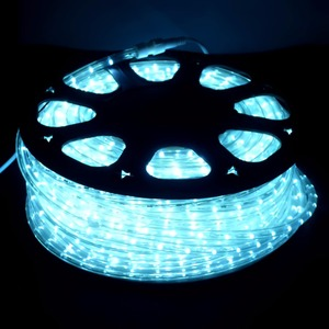 led rope walmart remote control 50m decoration dimmable 220v/110v round/flat led rope light