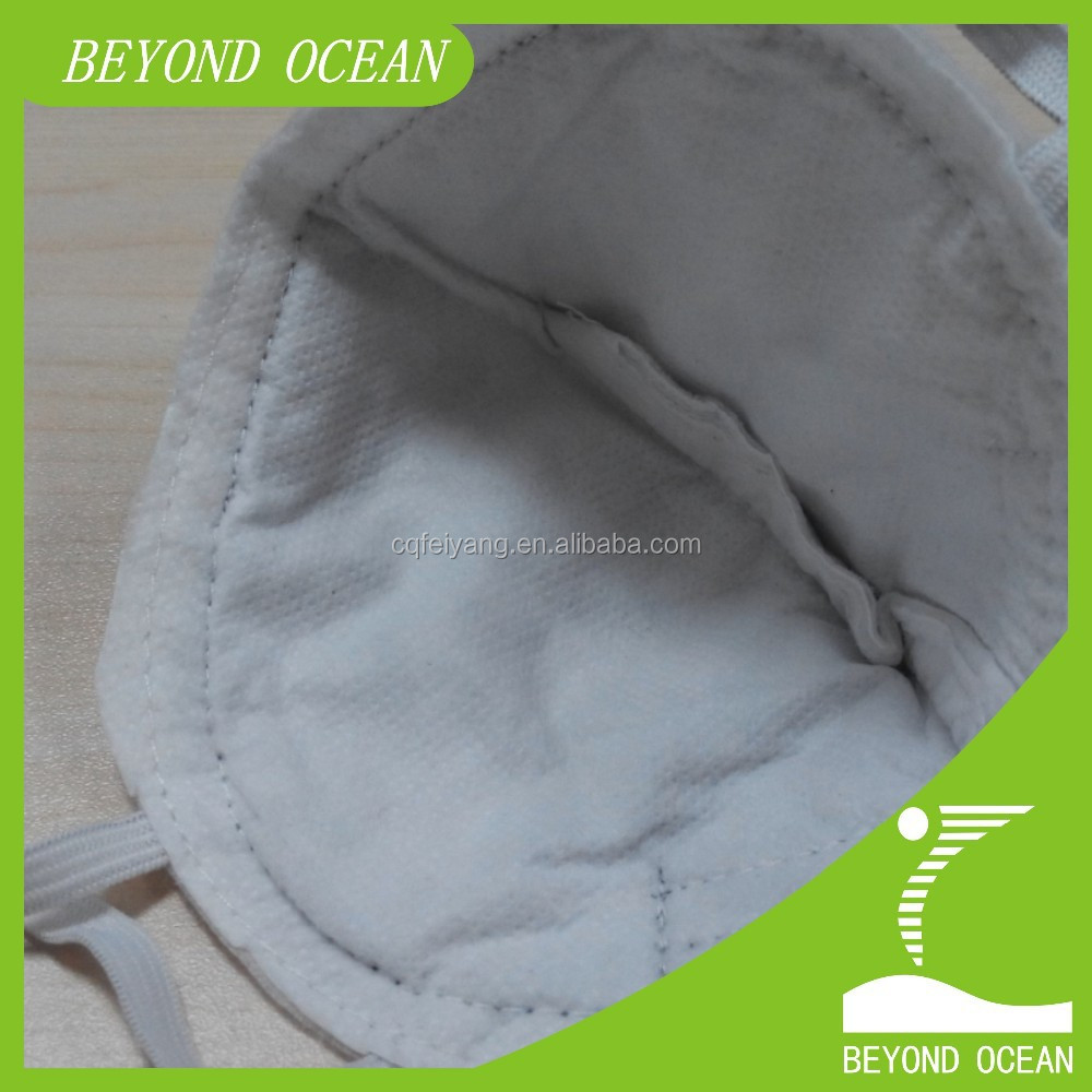 thin laminated activated carbon fiber felt for mask
