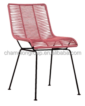 Colorful String Mexico Design Dining Chair For Outdoor