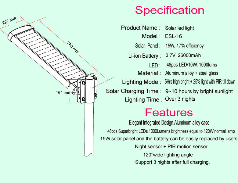 Most powerful large outdoor solar light with motion sensor for most powerful large outdoor solar light with motion sensor for garden aloadofball Images