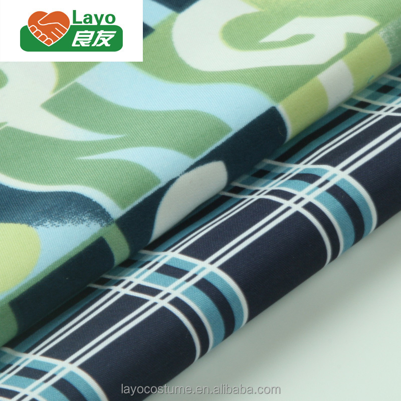 Wholesale 100% Polyester Microfiber Twill Printed 75D*200D Microfiber For Garments