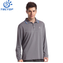 Hot Selling Wholesale Newest Design Men's Quick Dry Long sleeve 100% Polyester Polo T-shirt,Sport T-shirt