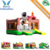 Commercial Inflatabl medium ranch bounce,bouncing house,cow bounce house with small slide