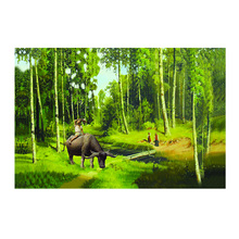 Naked picture 3d lenticular decorative picture