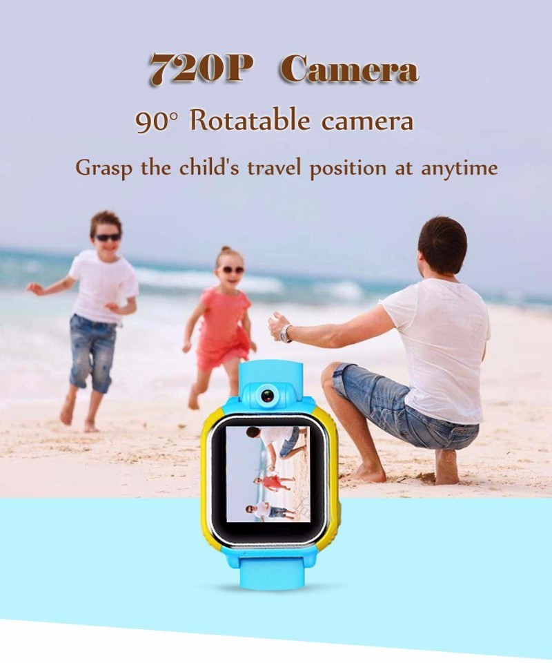 2018  Factory price 3g internet tracker feature  gps kids security smart watch have phone Faction