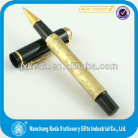 high grade the Chinese Eight Horses metal roller pen unique berrel Chinese style pen