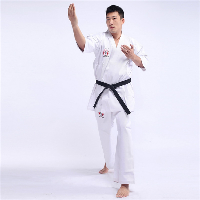 Good quality cheap custom wholesale taekwondo uniform dobok