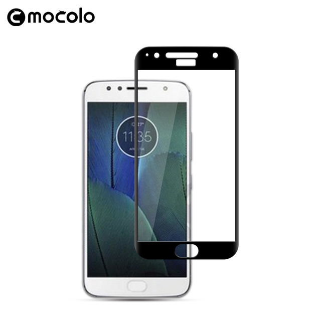 Tempered glass screen protector For Moto G5s Plus